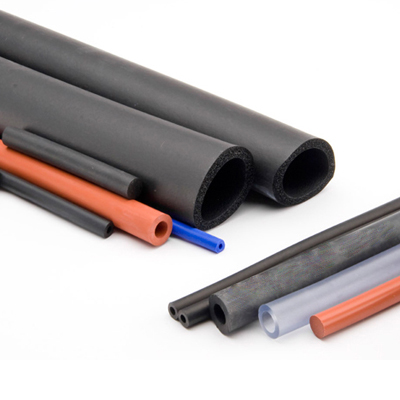 Hollow rubber tube